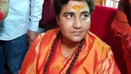 भोपाल सांसद प्रज्ञा सिंह ठाकुर ने ममता बनर्जी को लेकर किया आपत्तिजनक ट्वीट